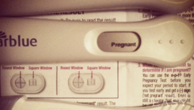 November 12, 2013 – First Home Pregnancy Test | Twins for Friends